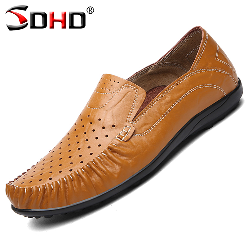 Plus Size 47 Genuine Leather Men's Shoes Oxfords Vintage Dress Shoes Business Formal Brogue Round Toe Flats Shoes High Quality(China (Mainland))