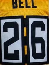 #50 Ryan Shazier shirts jerseys 84 Antonio Brown 7 Ben Roethlisberger Jersey, #26 LeVeon Bell 43 Troy Polamalu black white(China (Mainland))