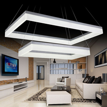 White LED Chandelier Lighting Fixture Silver Rectangle Large Hotel Project Lighting(China (Mainland))