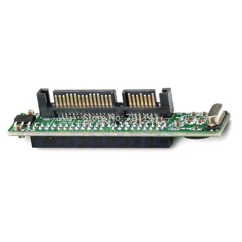 "J34 Free Shipping 44pin 2.5"" IDE HDD Drive Female to 7+15pin Male SATA Adapter Converter Card(China (Mainland))"