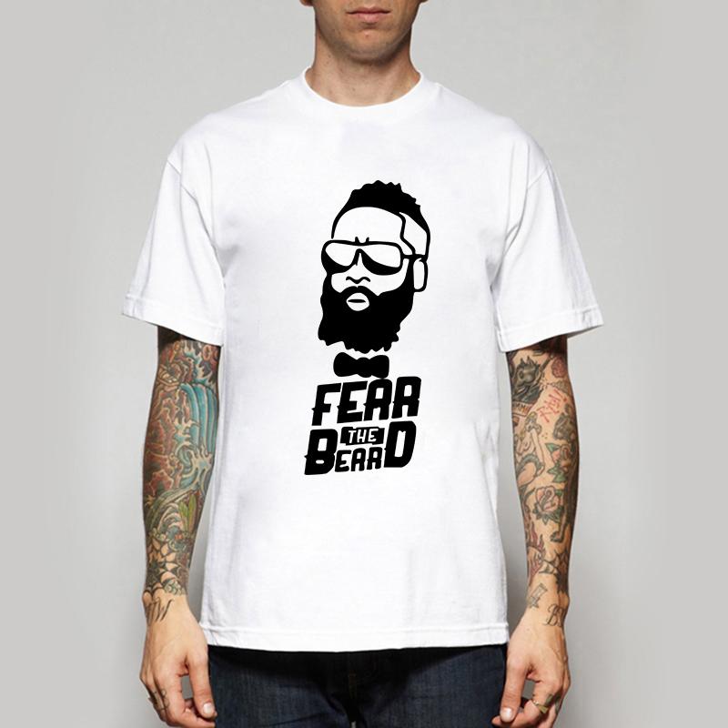 man cheap t shirts quality designer harden fear the beard