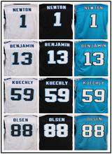 NHIHKSE The new Best quality jersey,Men's 1 Cam 59 Luke 13 Kelvin 88 Gregelite jersey,Blue,White,Black,Size 40-60(China (Mainland))