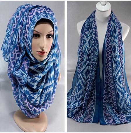 2015 plaid women's cotton long viscose 8 color hijab head wrap muslim hijab scarf shawl(China (Mainland))