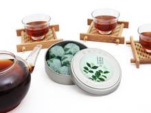 puer tea Hot Selling Round Box Mini Compressed Tea Healthy Chinese Authentic puer 1box 7pieces Jasmine