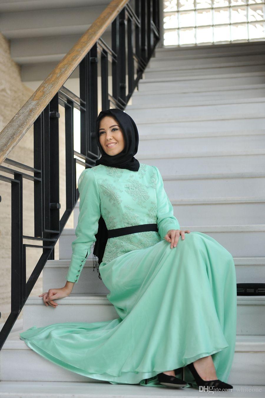 Funky Islamic Wedding Dresses Hijab Inspiration - All Wedding ...