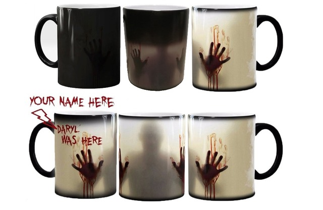 The Walking Dead Color Changing Ceramic 11oz Coffee Mug