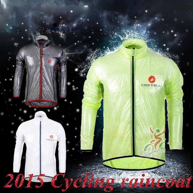 Ropa Ciclismo 2015 cycling raincoat waterproof jersey bicycle windbreak Waterproof Windproof mtb rain clothing cycling jacket(China (Mainland))