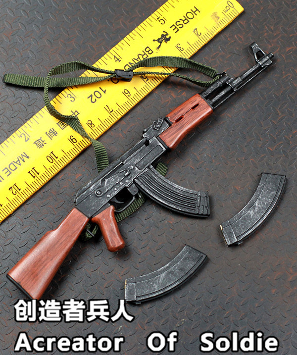 CMYOYS PMC released,AK47 folding gunstocks and fixed gunstocks, has professional painting color, very cool,1/6 Action figure<br><br>Aliexpress