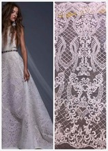 Buy 2016 African swiss Lace Fabric High African Tulle Lace Fabric Wedding dress Party cloth Beaded French Lace Fabric 5y for $69.60 in AliExpress store