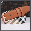 2015 New Designer Famous Brand Luxury Belts Women Belts Female Waist Strap Faux Cowskin Leather Alloy Buckle Belt