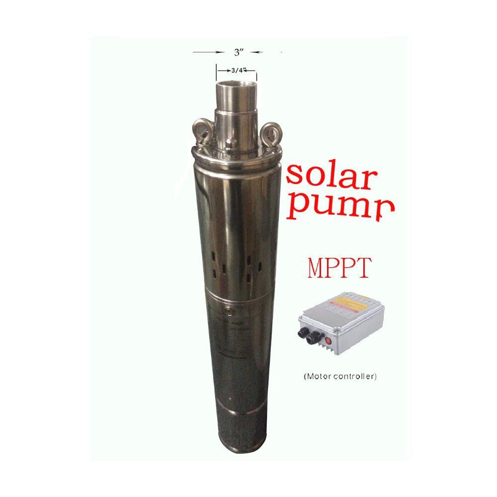 solar pump 24v solar borehole water pump solar energy pump solar power pump free shipping 3SPS1