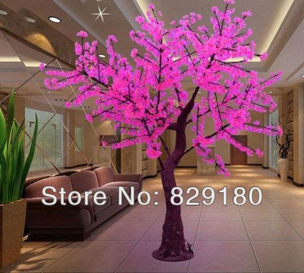 Ландшафтное освещение  LED cherry tree lights height/width:2.2m/1.8m 1944pcs Illumiated ZE-S1944l пуф dreambag круг cherry