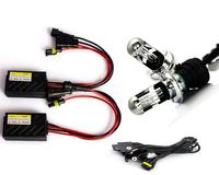 2015 quick bright start Car Hid Kit 55W 12V DC H4 HID xenon Hi/Lo Bulb H4-3 bi-xenon slim mini ballast block headlight lamp bulb