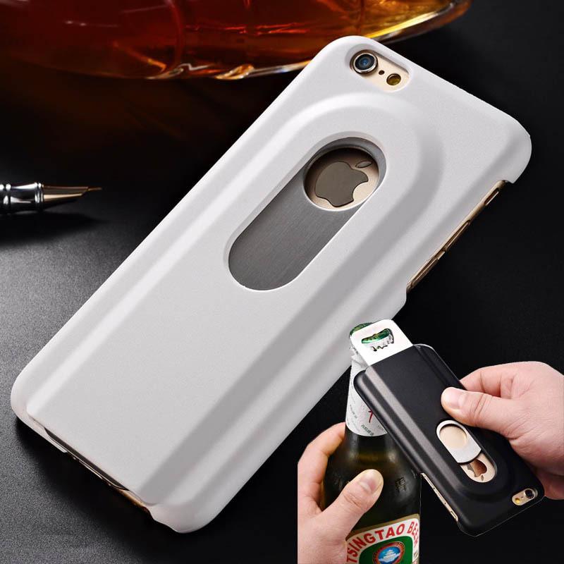 buy aluminum case for iphone 6 4 7 inch beers bottle opener phone back cover. Black Bedroom Furniture Sets. Home Design Ideas