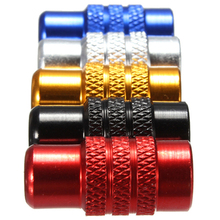 A13 4 pcs/lot  Bicycle Bike Wheel Tyre Presta Valve Cap French Anodized Dust Cover VE374 P