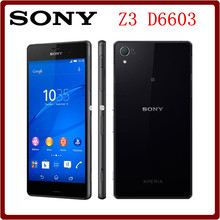 Buy Original Unlocked Sony Xperia Z3 D6603 16GB ROM+3GB RAM 5.2 Inch Quad Core LTE 20.0MP 3100mAh Android Smartphone for $132.99 in AliExpress store
