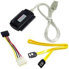 Новый USB 2.0 для IDE SATA S-ATA 2.5 3.5 жесткий диск HD кабель адаптер HDD конвертер