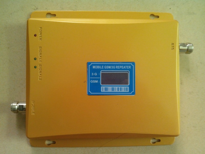 2016 Original New Dual Band LCD display GSM 3G Mobile Phone Signal Repeater 900mhz WCDMA 2100mhz Booster Amplifier - Hua Store store