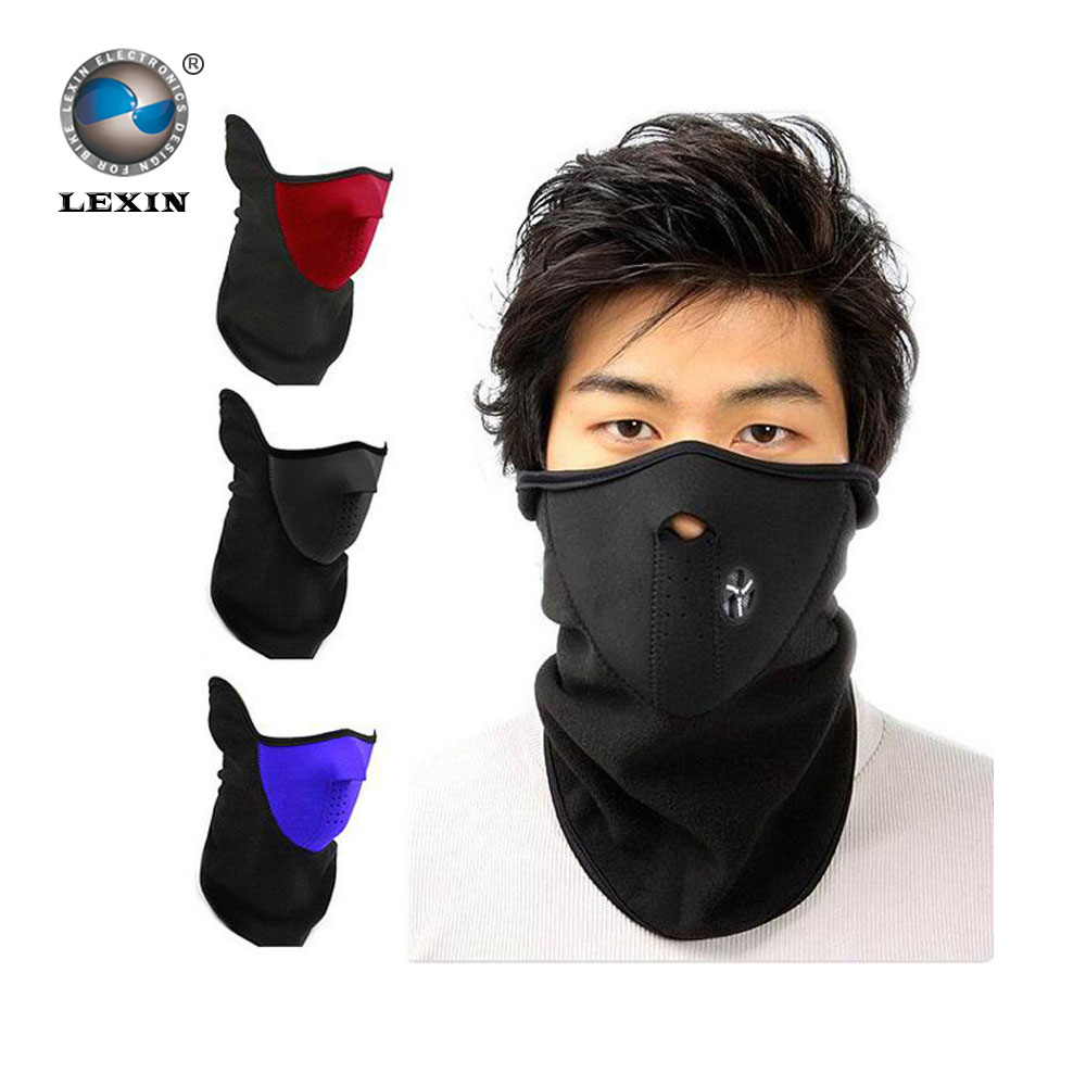 Promotion Thermal Neck Warmers Motorcycle SKULL Ghost Face Windproof Mask Outdoor Sports Warm Ski Caps Bicyle Bike Balaclavas - LEXIN ELECTRONICS CO., LTD store