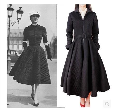 Vintage Winter Dresses - KD Dress