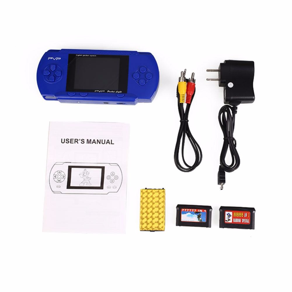 Mini Portable Video Game Handheld Game Player Console Retro PVP 8 Bit 5 Colors