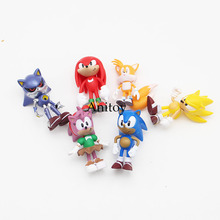 Buy Sonic 1/12 scale painted AOSTH figure Adventures Sonic Hedgehog PVC Action Figure Collectible Model Toy 7cm KT3088 for $8.64 in AliExpress store