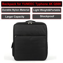 Free shipping! Nylon Shoulder Bag Backpack Carrying Case For YUNEEC Typhoon 4K Q500 RC Drone