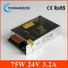 Выключатель питания 24 В из светодиодов напряжение управления трансформатор питание контроллера 75 Вт 3.2A переменного тока 100 В — 240 В в постоянный 24 В для из светодиодов полосы
