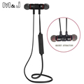 Bluetooth V4 1 Wireless Sport Running Earphone Stereo In ear Magnet Earbud With Microphone Earphone For