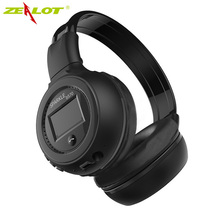 Headphones Bluetooth 4.0 Stereo Auscultadores Wireless Handsfree Headset with Mic Microphone MP3 Player for Computer Zealot B570(China (Mainland))