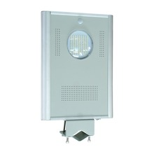 [free shipping]] 12w  all-in-one integrated solar street light with sensor solar garden light   lamp(China (Mainland))