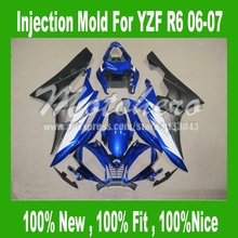 Buy Injection mold fairings 06 07 Yamaha YZF-R6 06 07 #B1B2W YZF R6 06 07 YZF 600 R6 06 07 Blue black white fairing kits 7gifts for $316.00 in AliExpress store