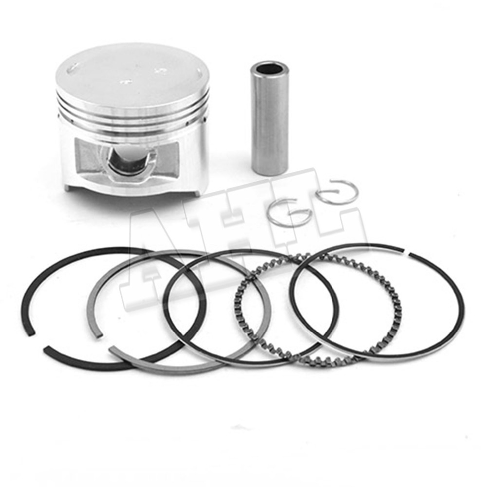 Motorcycle Engine parts +100 Cylinder Bore Size 50mm pistons & rings Kit For Yamaha XV250 XV 250 XC125 XC 125 piston & ring(China (Mainland))