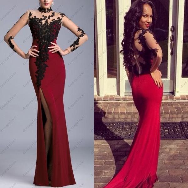 elegant long evening dresses - Dress Yp