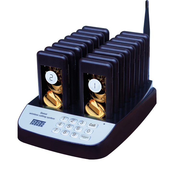 Queue wireless calling system,wireless calling system , wireless call button,wireless waiter call(China (Mainland))