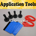 4PCS Magnet Holder 2PCS 3M Felt Squeegee 2PCS Vinyl Cutter Car Vinyl Application Tool For Car