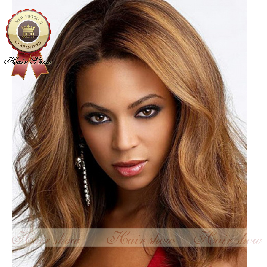 2016 Hot Selling Blonde Ombre Glueless Full Lace Human Hair Wigs Brazilian Natural Wave Ombre Lace Front Wig With Baby Hair<br><br>Aliexpress
