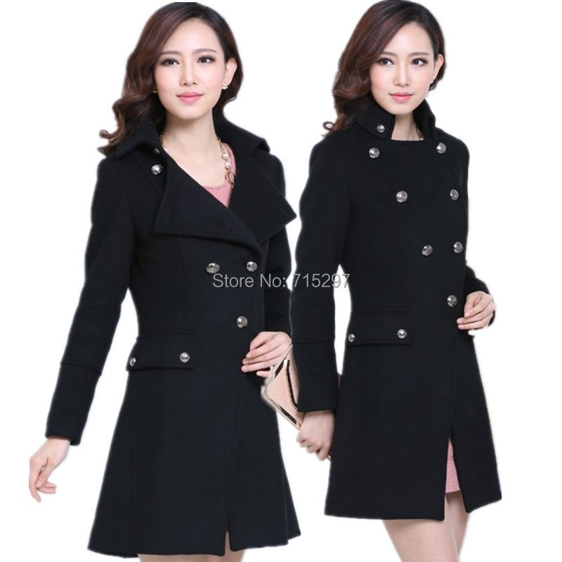 Cheap Pea Coats For Plus Size