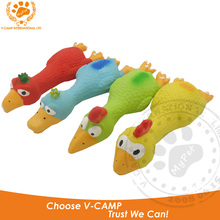 My pet 2016 8 shape 1Pcs 100% Latex Rubber Chicken Dog Toy Training Product Healthy Exercise For Pet Funny Squeak Toys Baby Gift