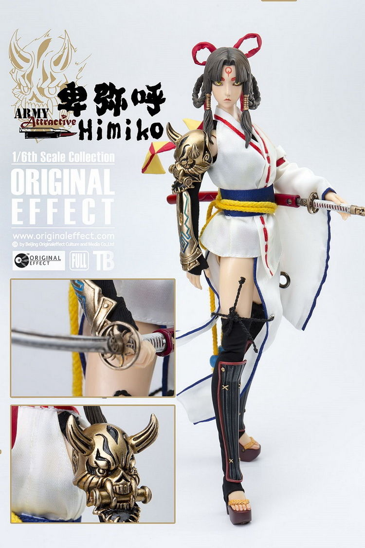Original Effect Army Attractive VOL.12 Himiko 1/6th Scale Full Set Action Figure OE-VOL12 Collectible Model Toys Gift