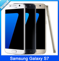 S7 New Original Samsung Galaxy S7 Waterproof 5.1'' Quad Core Android 6.0 Smartphone 4G RAM 32G ROM 12MP 4G LTE Cell DHL Freeship