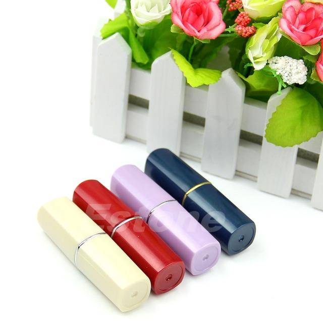 Горячая новый секретный помада-образный шкатулка медицина таблетка таблетки Box держатель