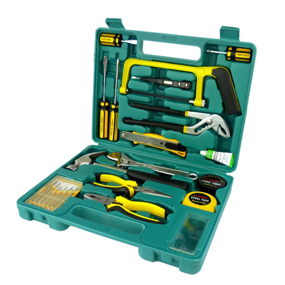 G  T Hot 2015 21 pcs mechanic tool box repair tools Auto rerpoair tool set Hand tools combination NO 011021B R<br><br>Aliexpress