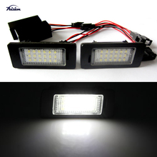 Error Free LED Number License Plate Lamp Light Audi AUDI Q5,A4 4D/5D(B8) ,S5 S4,A5,TT RS Volkswagen VW PASSAT 5D R36 - E-LIGHTING store