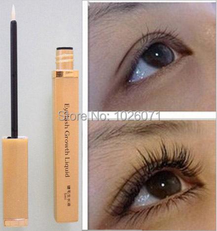 5ML Eyelash Growth Liquid Thicker Longer Slender 7days Grow Eyelashes Have Effect Free Shipping(China (Mainland))