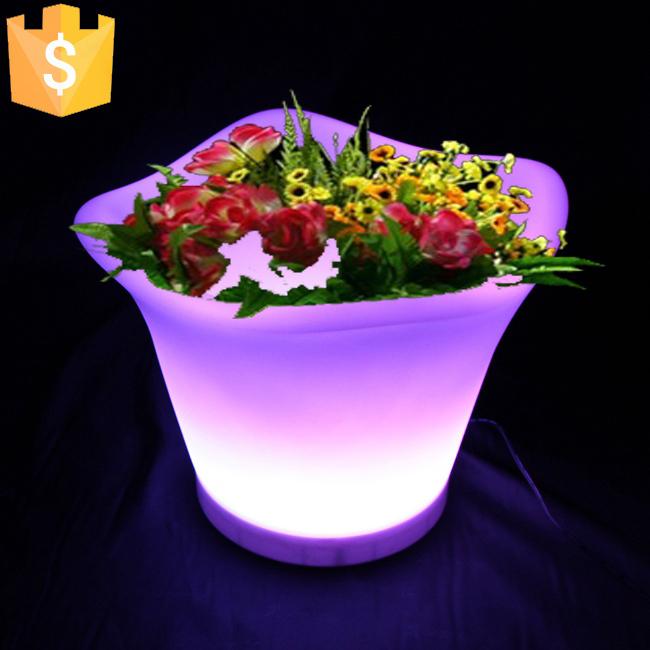 online buy wholesale illuminated led planters from china