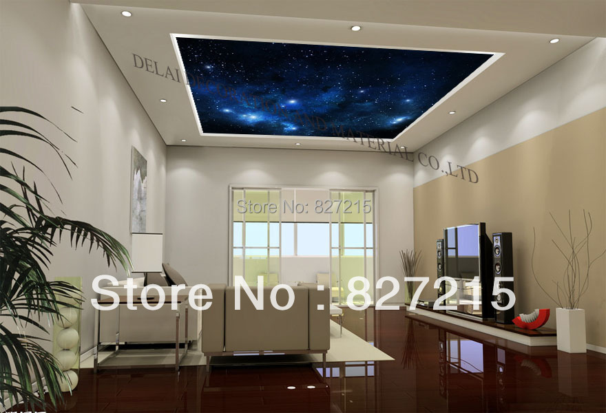Universal Series/ u-9436/ Print Ceiling tiles/ PVC Stretched Ceiling Film /Ceiling Decoration/Home improvement/Home decoration(China (Mainland))