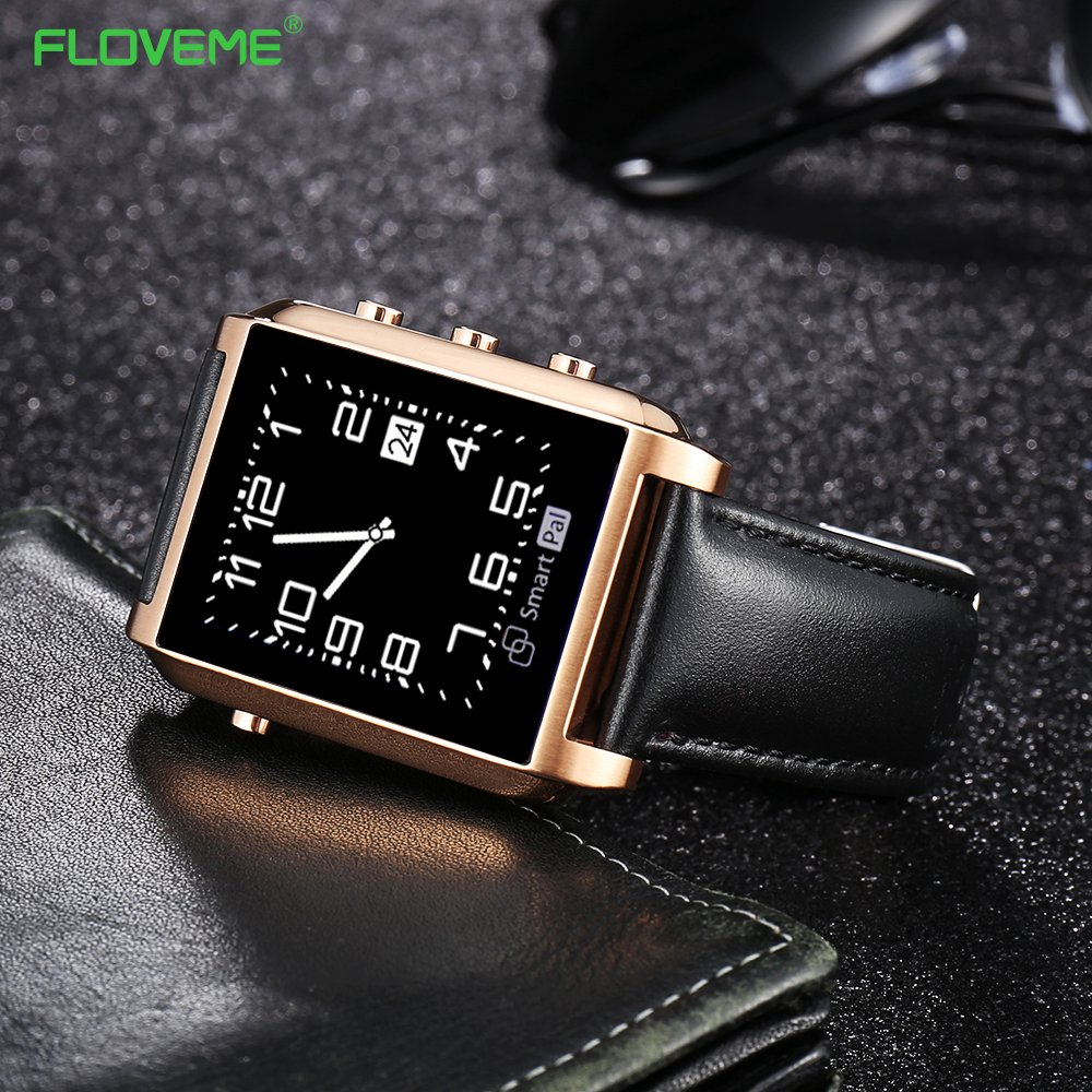 "FLOVEME Luxury Smart Watch E8 Fashion Wearable Message Reminder For Adult Bluetooth Pedometer On Wrist 1.26"" TFT sapphire mirror(China (Mainland))"