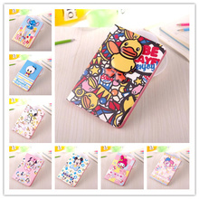 Fashion Cartoon Leather Case for iPad Mini 3 with Retina Display, Smart Cover with Stand Lovely Cases for Apple iPad Mini 1 2 3(China (Mainland))