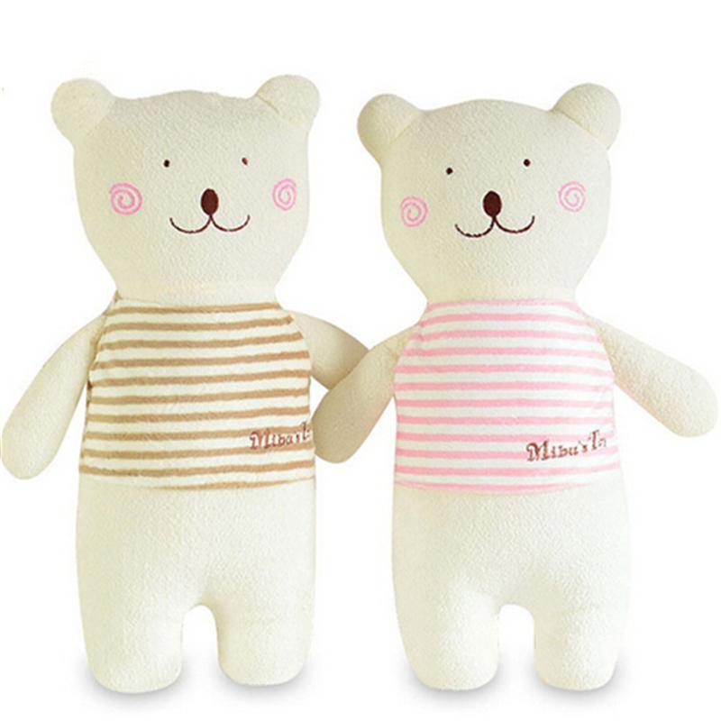 1PCS New Style 42cm Cute Soft Stuffed Animal Bunny Rabbit Plush Bear Toy Baby Girl for Children Gift Pink Khaki A36(China (Mainland))